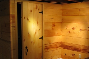 Local Area Sauna Exterior