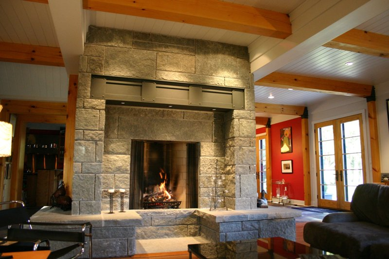 Rumford Fireplaces Gimme Shelter Construction